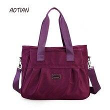 AOTIAN Women Nylon Handbags Famous Brand Women Messenger Bags Big Ladies Shoulder Bag Casual Tote Crossbody bags Bolsos Mujer