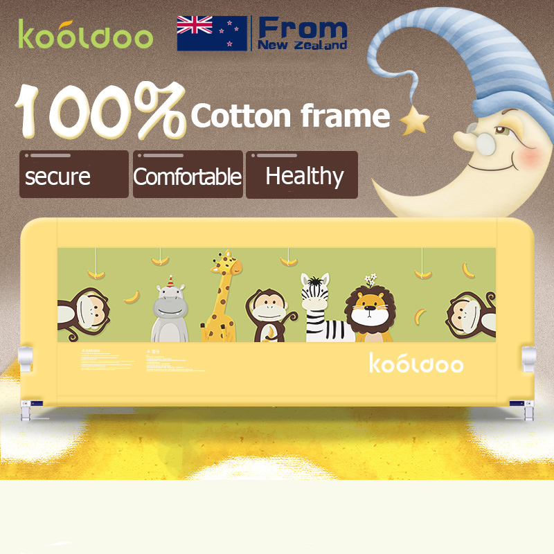 2017 Top Fashion Crib Bumpers Hk Free Delivery 100% Cotton Baby Safety Bed Rails Carton Picture 150cm 180cm 200cm Many Colors hk free 100