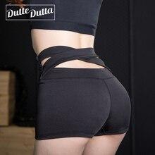 Duttedutta Új Design női jóga rövidnadrág magas derék futó lélegző gyors száradó magas rugalmasságú fitness rövidnadrág S M L