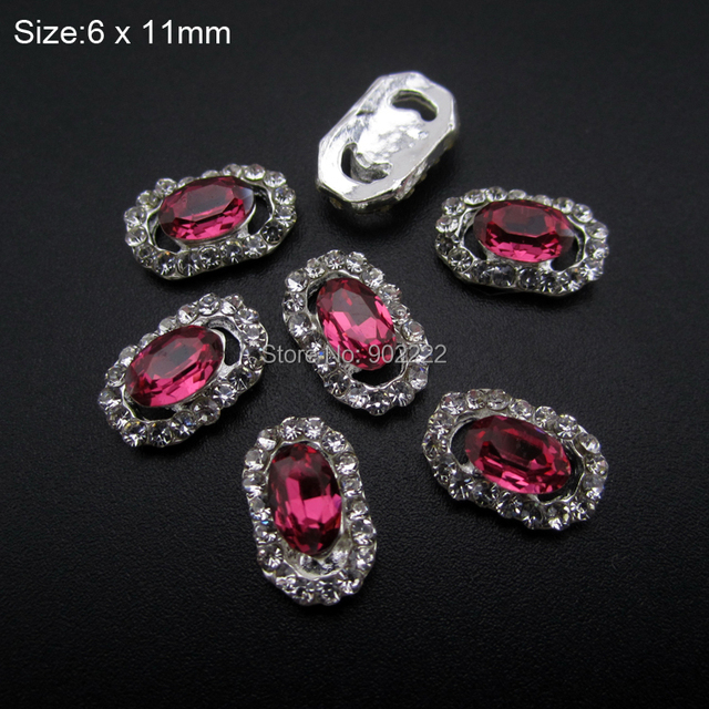 10pcs Luxury Glitter nail gems strass rhinestones nail art ...