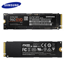 Samsung 250 ГБ 500 ГБ 1 ТБ 960 EVO NVMe M.2 SSD твердотельный жесткий диск NVMe MZ-V6E250BW 960 Evo SSD PCIe 3,0×4, NVMe 1,2 D