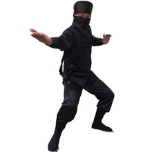 Assassin Black Suit Mens Traditional Chinese