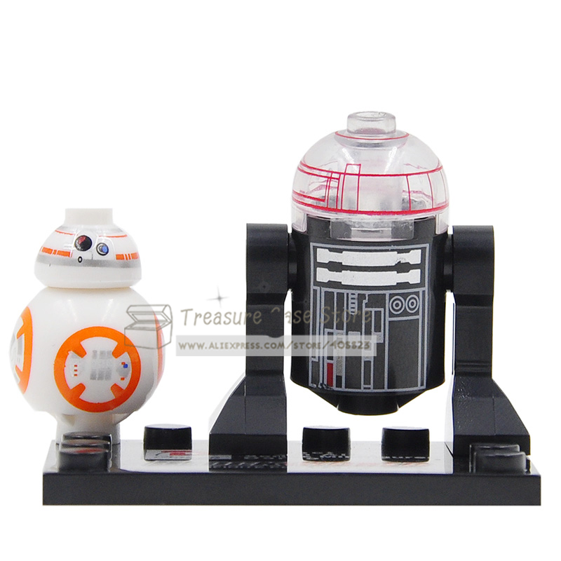 BB8 And R2-D2 Star Wars Minifigures Compatible
