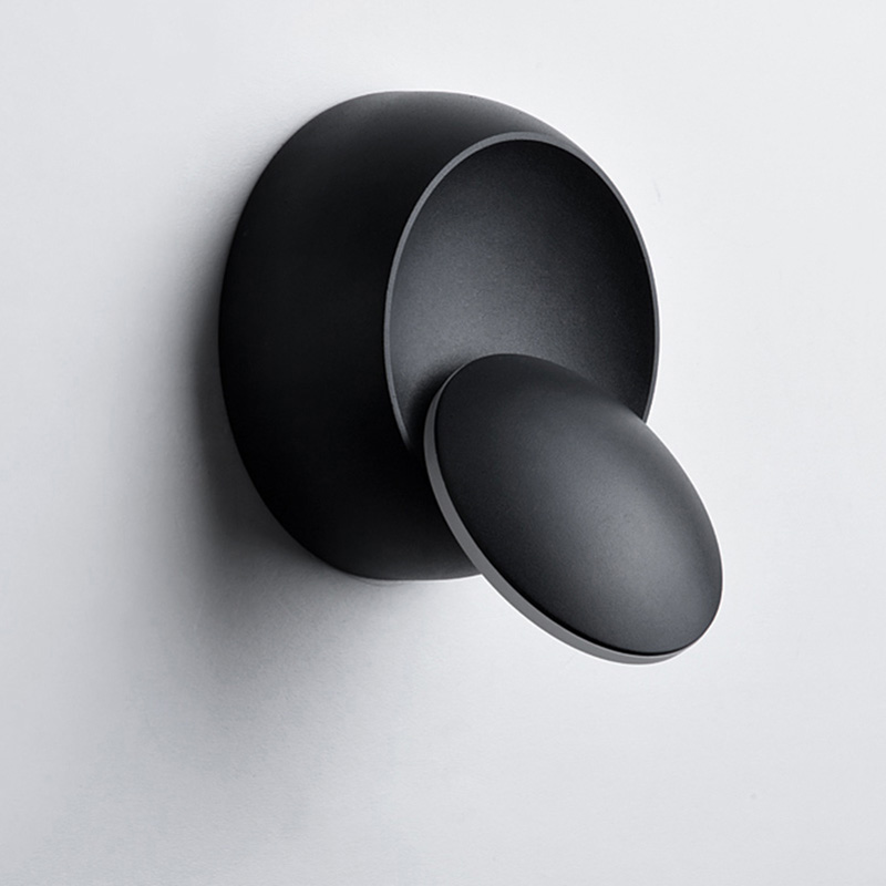 6 ワット led 装飾ベッドサイドランプ寝室用ロフト燭台光調節可能な 360 回転可能な現代の家庭用インテリア