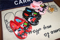 Mini Melissa Mickey Kids Shoes 15-18cm Children Ultragirl Toddler Sweet Flat Mickey Minnie Flower Girls Party Sandals DHL Free