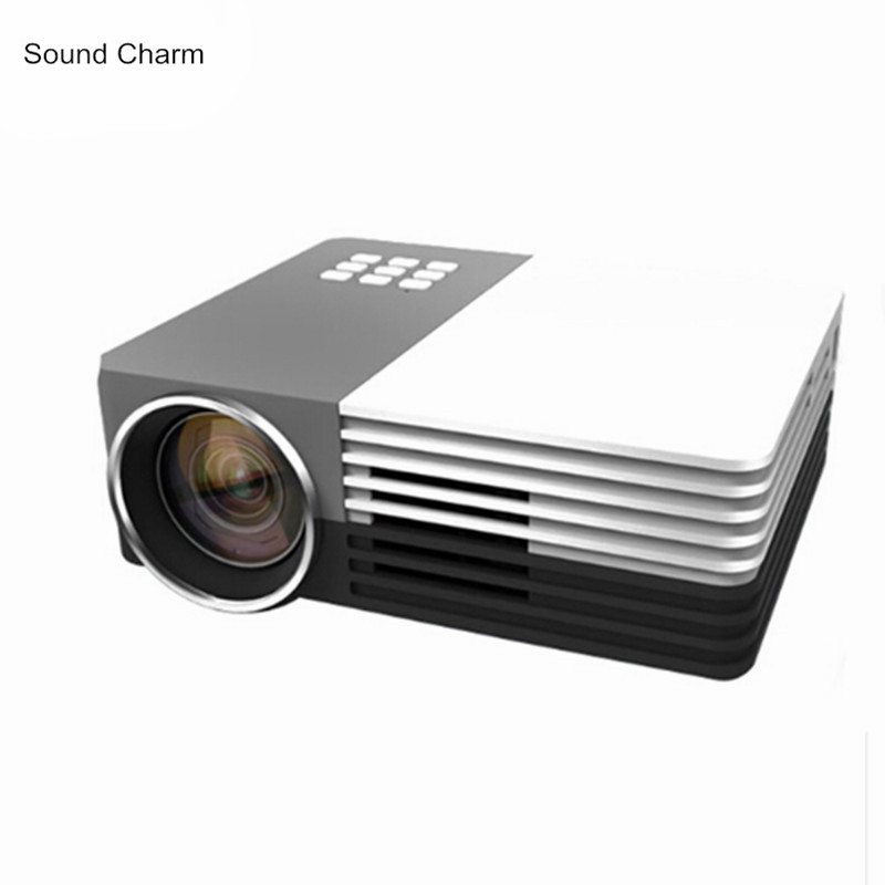 Biggest Sale Mini Digital LED pico portable Video 3D LCD HD Projector support 1080P Perfect Home theater Projector image