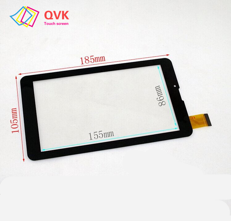 Black 7 Inch Touch Scrreen For Irbis TZ716 TZ714 Tablet PC Capacitive Touch Screen Repair Replacement Free Shipping