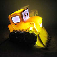 Cartoon Car LED Night Light Children AC 220V Light Bed Lamps Led Night Lamp Best Christmas