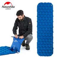 Naturehike una sola persona Nylon TPU almohadilla para dormir colchoneta de Camping ligero a prueba de humedad colchón de aire portátil colchón inflable