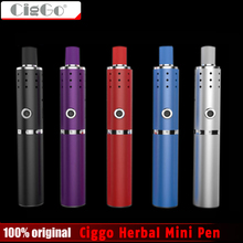 New Original Ciggo Herbstick Eco Vaporizer Dry Herb Airflow Hole 2200mah Mini Vape Pen Style VS Normal Dry Herbal Vaporizer Pens