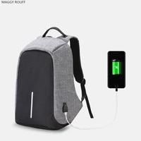 Multifunction USB Charging Men 15 Inch Laptop Backpacks Leisure Travel Backpack For Girls Fashion Male Backpack