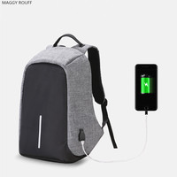 Multifunction USB Charging Men 15 Inch Laptop Backpacks Leisure Travel Backpack For Girls Fashion Male Backpack