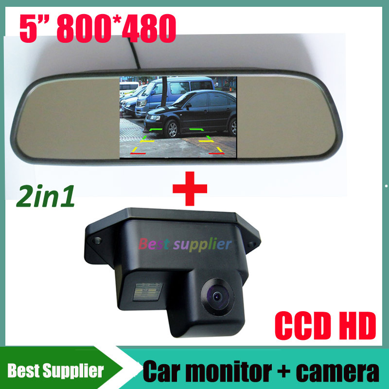 CCD Color Car Reverse Rear View Parking Back Up Camera For MITSUBISHI Lancer - фото 9