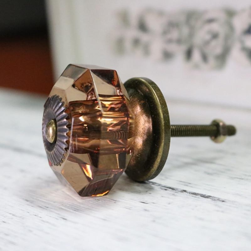 38mm Amber Antique Dresser Knobs and Handles Kitchen Cabinet Drawer Knobs Closet Wardrobe Cupboard Pulls Acrylic Door Knobs