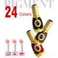 1 Pcs Semi permanente Maquiagem Micro Pigmentos Cosméticos Sobrancelha Delineador Lip Tatuagem Tinta de Tatuagem preta Universal Cal Líquido