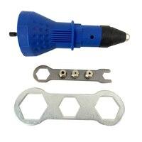 Hot Electric Rivet Nut Gun Riveting Tool Cordless Riveting Drill Adaptor Insert Nut Tool Riveting Drill