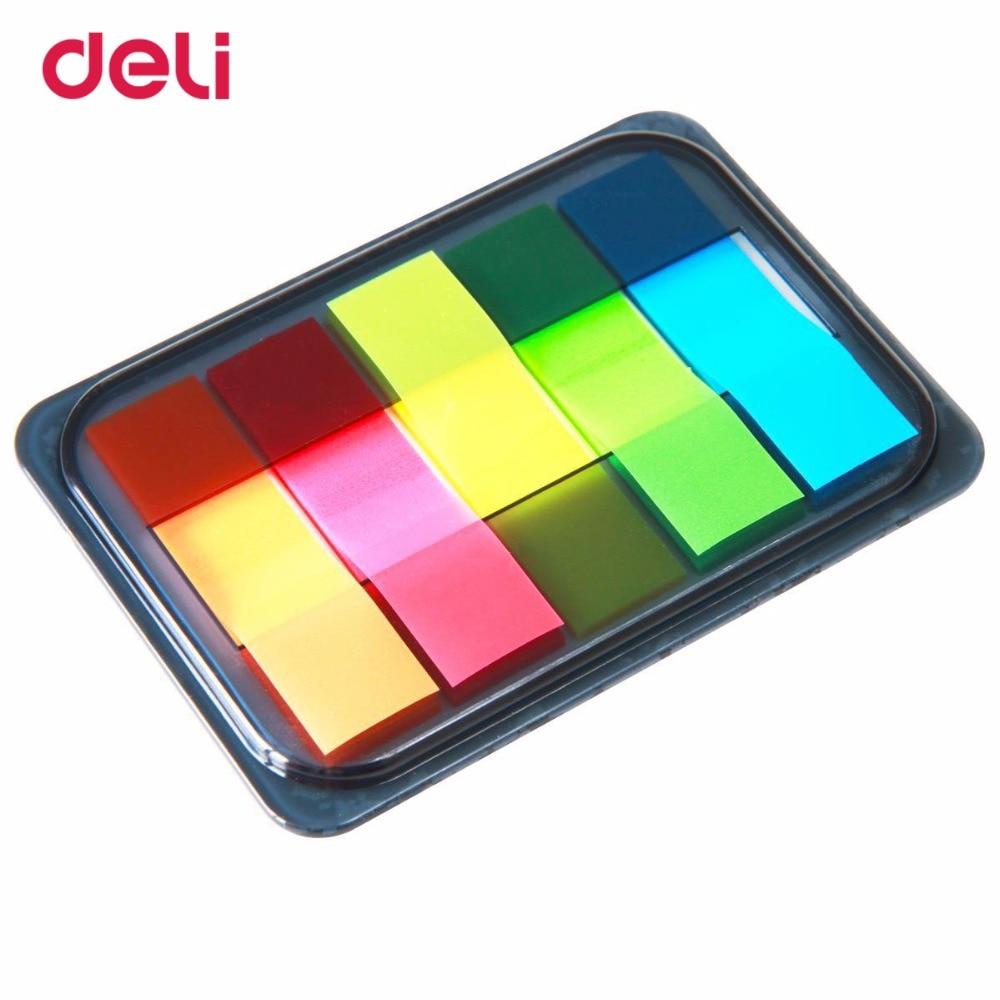 deli 9060 Inlägg Stickers och Pepsi Fluorescerande Film Indikator - Block och anteckningsböcker - Foto 4