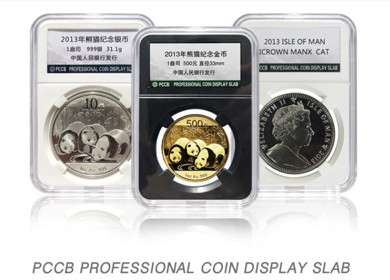 PCCB Holder Protector Coin Display Slab for NGC PCGS Grade Collection Box 21MM