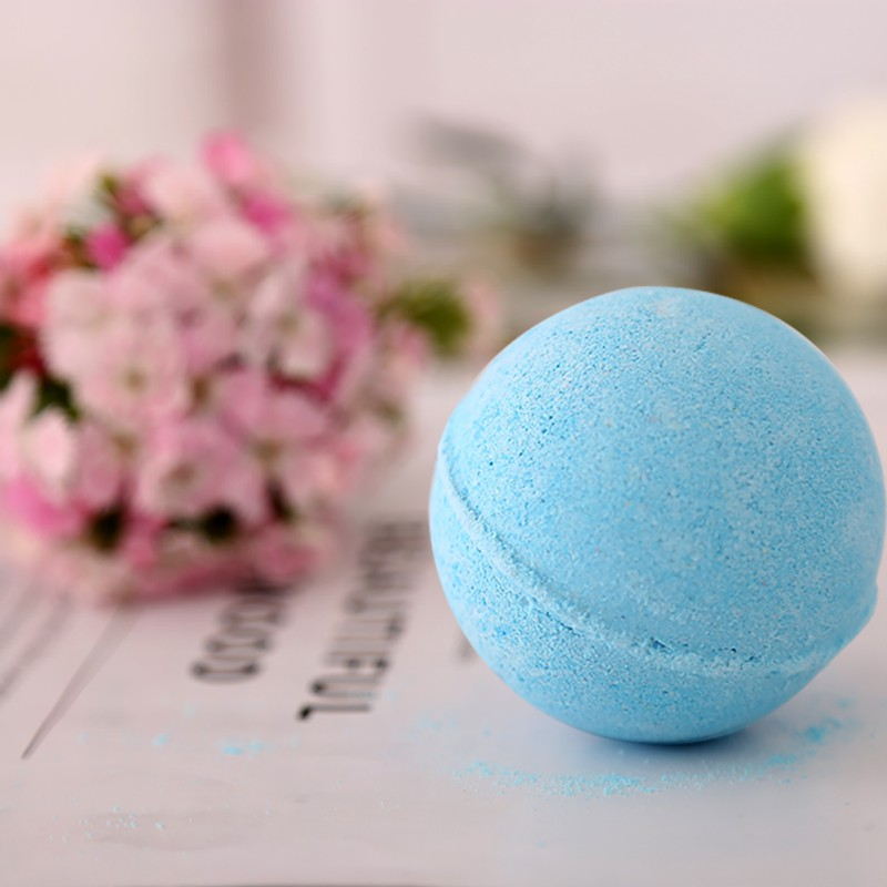2PC Bathroom Bath Salts Ball Bomb Body Cleaner Handmade Bath Salt Gift Skin Care Cleaner Body Massage Tools Random Color