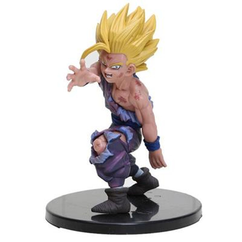 12cm Anime Dragon Ball Z Super Saiyan Son Gohan Action Figures Master Stars Piece Dragonball Figurine Collectible Model Toy