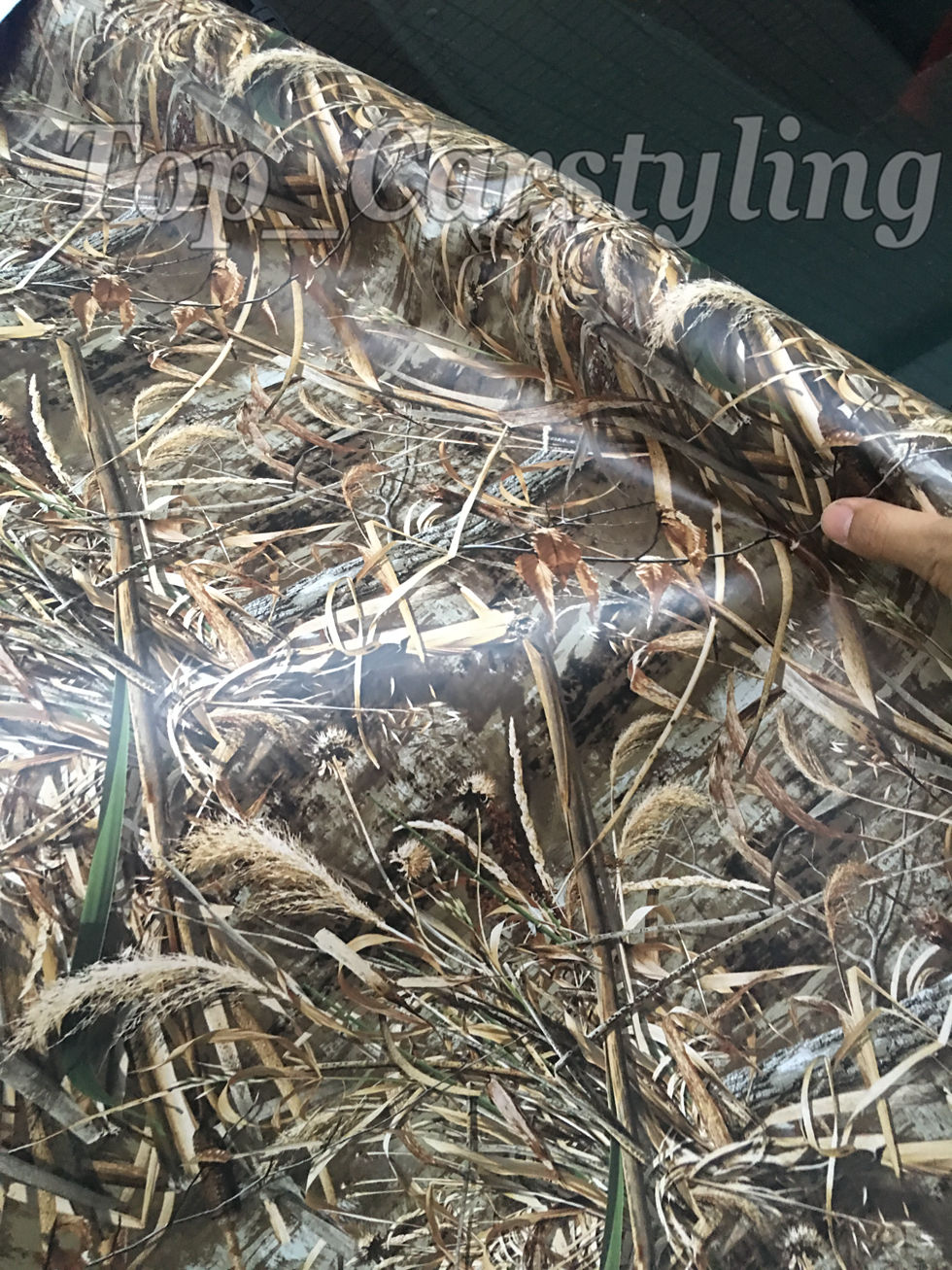 2017 new mossy oak camo vinyl film for whole car wrap covering with air bubble free grass shadow. Black Bedroom Furniture Sets. Home Design Ideas