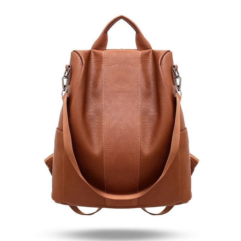 купить 2018 Fashion Women Backpack High Quality Youth Leather Backpacks For Teenage Girls Female School Shoulder Bag Bagpack Mochila по цене 326.52 рублей