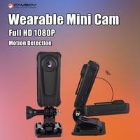 T10 Camera Security Guard Recorder DVR Body Pocket HD 1080P Mini Camera Motion Detection Video Camcorder w/850mAh Battery