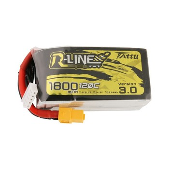 Tattu R-Line Version 3.0 V3 1300/1400/1550/1800/2000mAh 120C 4S 6S 4.2V Lipo Battery XT60 Plug FPV Racing Drone RC Quadcopter 4