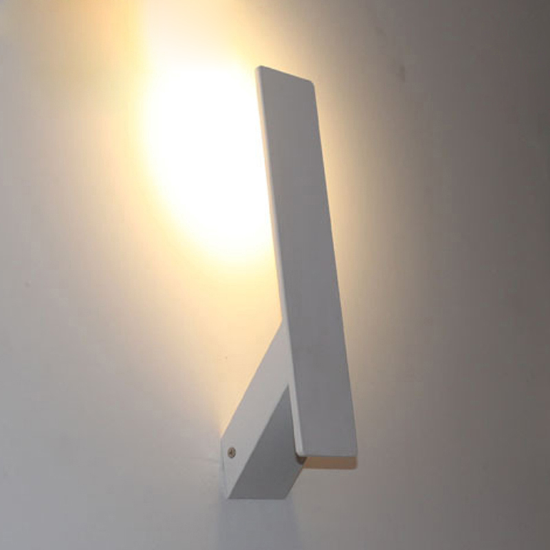 Modern Led Wall Lamps : Modern led Wall Lamps Aluminum Bedroom Bedside Lamp High Bright led Light Hotel Project Home ...