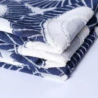 2019 New fashion circular cut jacquard women's fabrics spring and summer fashion even clothing jacket fabric wholesale