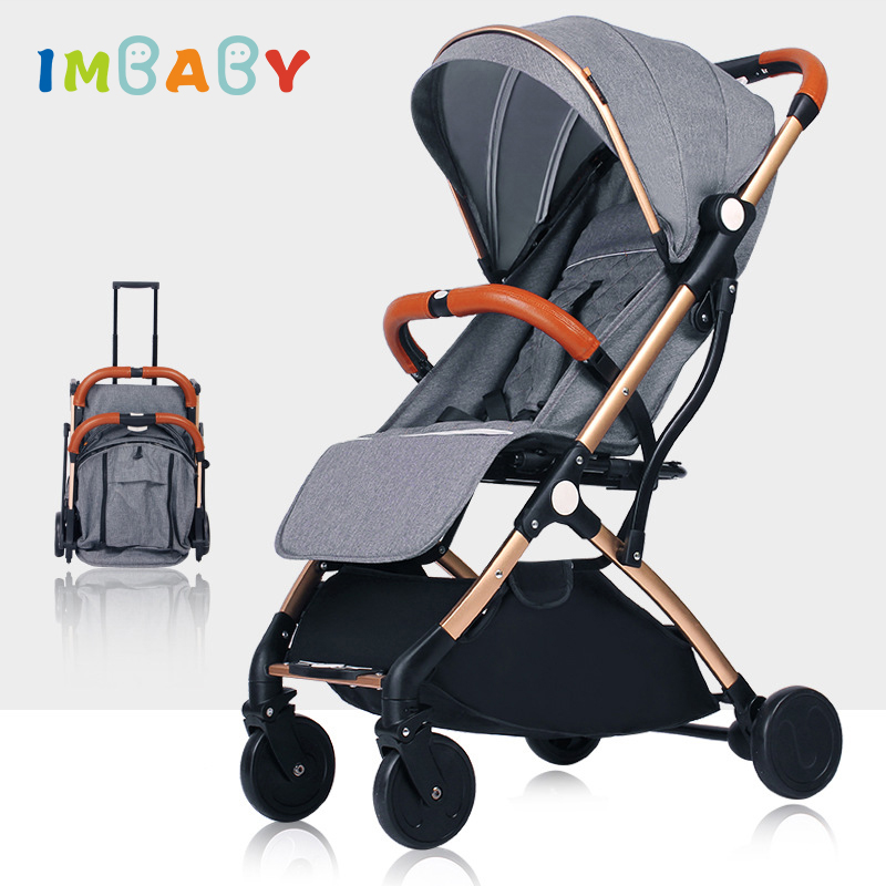 IMBABY Folding Lightweight Baby Stroller For Plane Travel Ultra light Baby Carriage Baby Prams For Kids