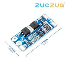 2S 7.4V lithium battery protection board 8A operating current 10A current limiting with equalization(China)