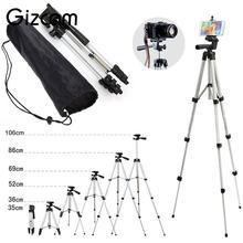 Gizcam Professional Foldable Extendable Aluminum mini Tripod Mount Stand Mobile Phone Digital Cameras Camcorder Tripods
