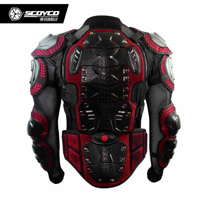 2017 Upgrade Motorcycle Armor font b Racing b font Full Protector Gears Armors Jacket Scoyco AM02