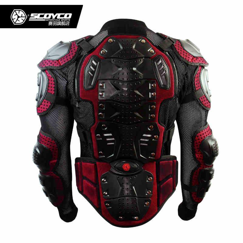 Горячая продвижение обновить мотоцикл Броня Мотокросс защитник передач Броня вся куртка scoyco с система стрельбы am02-2