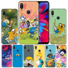 Adventure Time Finn Jake силиконовый чехол для Xiaomi mi 9 8 Play A1 A2 Red mi Note 7 6 6A 5 Plus S2 GO Lite Pro Pocophone F1(China)