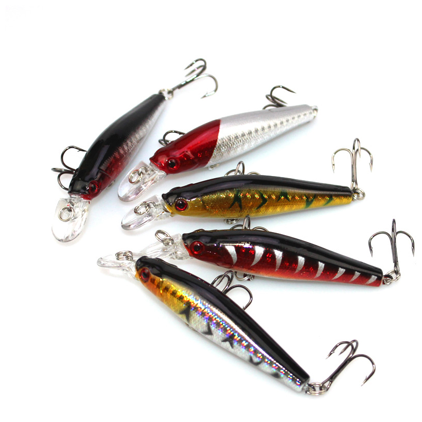 High quality fishing bait 8cm free shipping lure kit for Fishing lure kits