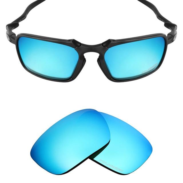 e9e22d49760 Mryok+ POLARIZED Resist SeaWater Replacement Lenses for Oakley Badman Sunglasses  Ice Blue