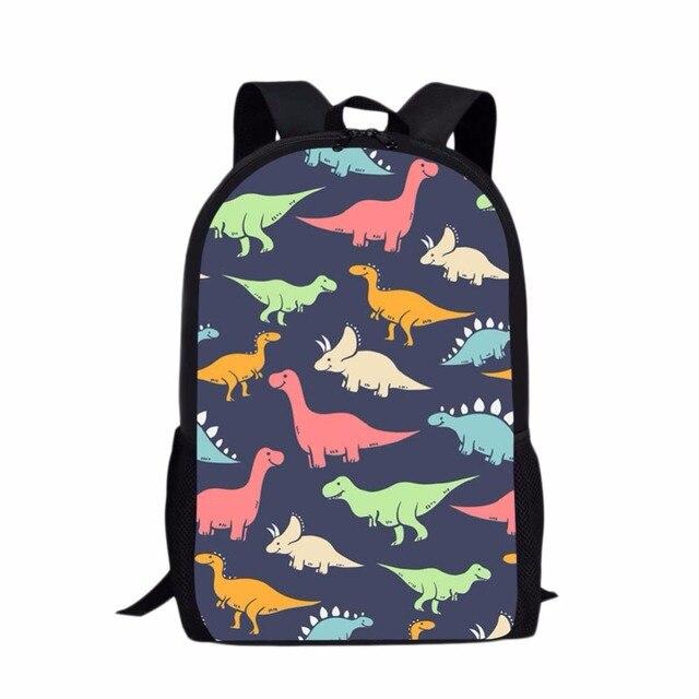 012e4245a7e2 Jurassic Century Dinosaur   Dragon Printing Backpack Children School  Teenager Girls Child Shoulder Book Bag Kids Schoolbags