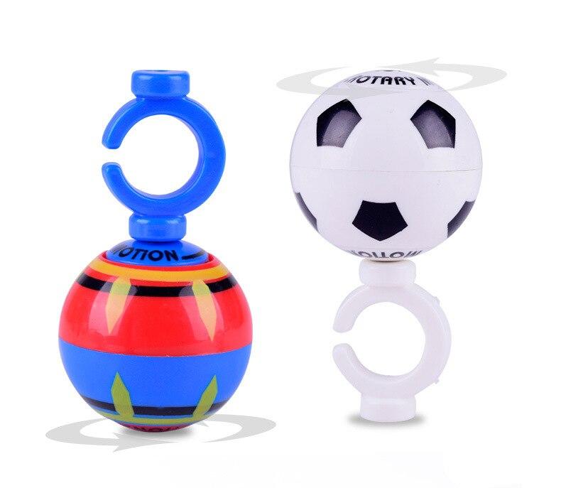 5pcs 4cm plastic LED light-up Luminous Magnetic Ball Toys funny kids Education Fidget Spinner football basketball for 2018