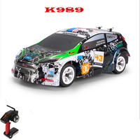 K989 Remote Control Four Wheel Drive RC Car Electric Toys Mini Size car 1:28 full scale high speed off road Vehicles