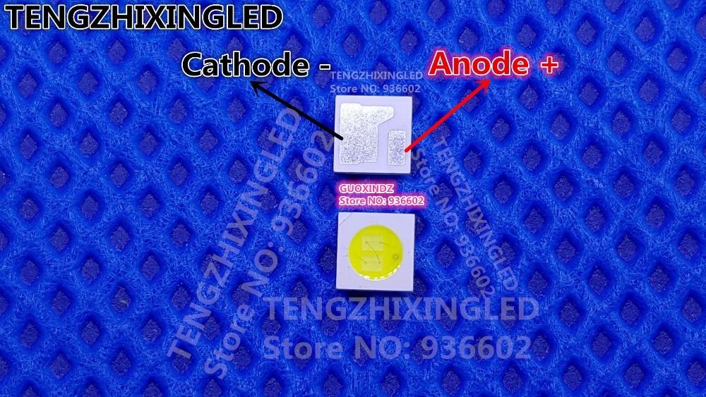 For LED LCD Backlight TV Application LED Backlight  1.6W 6V 3030 125LM Cool White  AOT 3030M-W3TB  LCD Backlight For TV