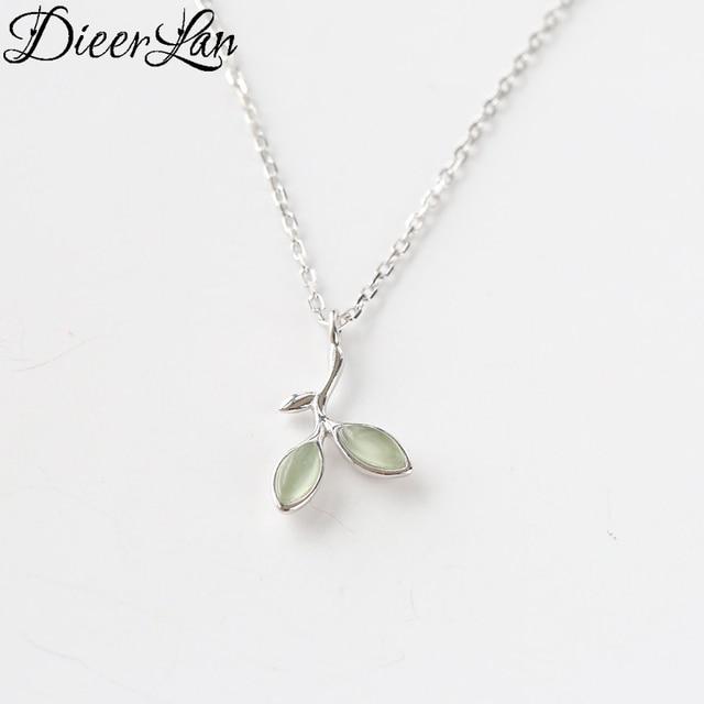 New arrivals 925 sterling silver leaf necklaces pendants for women new arrivals 925 sterling silver leaf necklaces pendants for women fashion sterling silver aloadofball Images