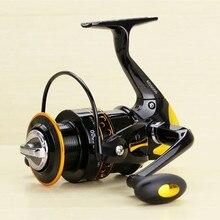 New 12+1BB 5.5:1 Metal Spinning Fishing Reel Peche Fish Wheel Spinning Reel Fishing Tackle 2000 – 9000