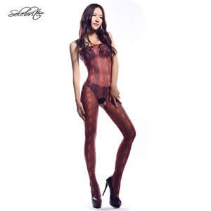 afa823292e4 Selebritee Womens Bodystocking Sexy Bodysuits Lingerie
