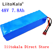 LiitoKala 48V 7.8AH 13S3P battery pack 48V 15AH 1000W Electric bicycle battery 48V Lithium ion battery 30A BMS 48v sanyo ga battery pack 17 5ah electric bike lithium ion battery for 1000w