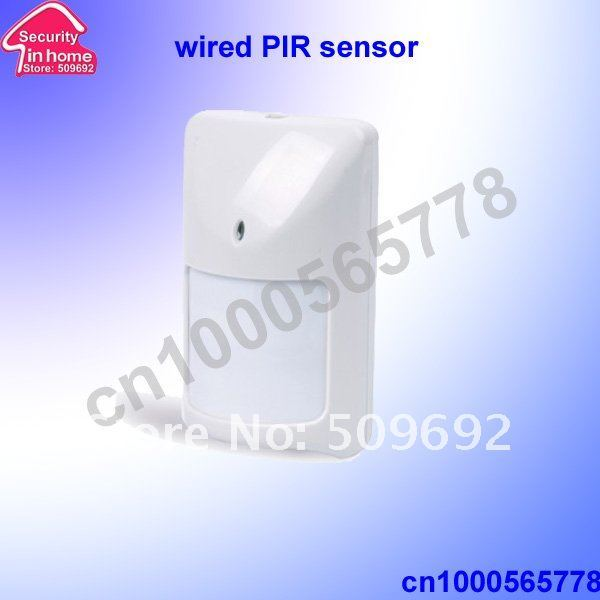 10pcs/ lot wired infrared detector /PIR detector/ motion sensor free shipping
