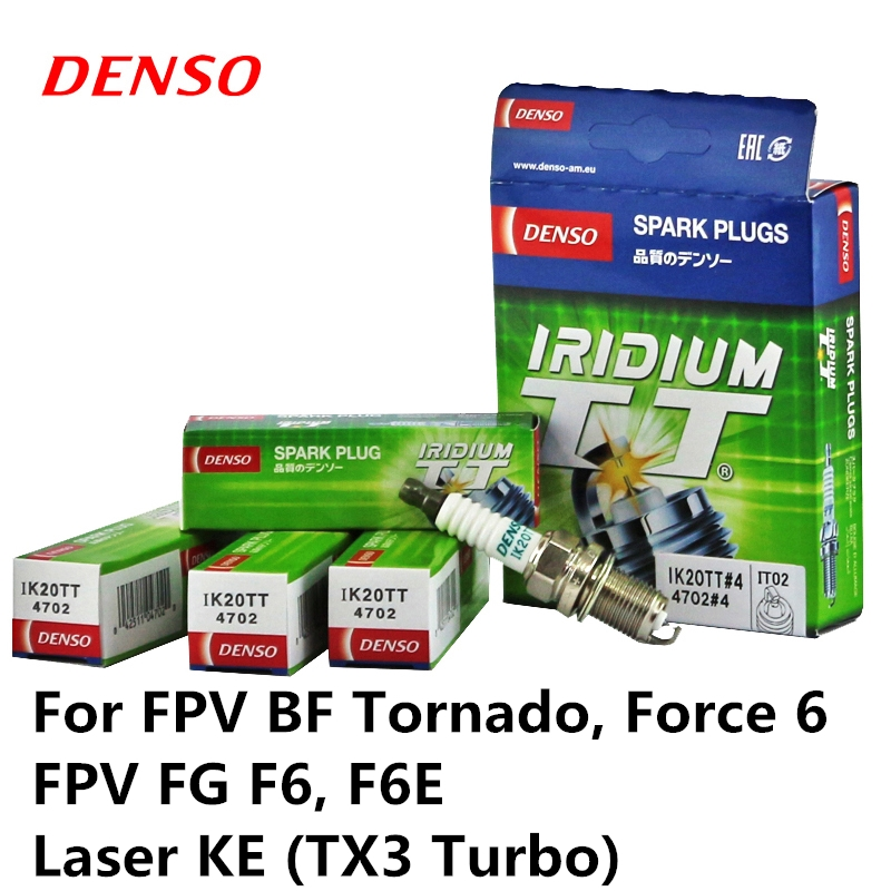 4 pezzi/set DENSO Spina di Auto Accensione Per FPV BF Tornado, Forza 6 FPV FG F6, f6E Laser KE (TX3 Turbo) Iridium Platino IK20TT