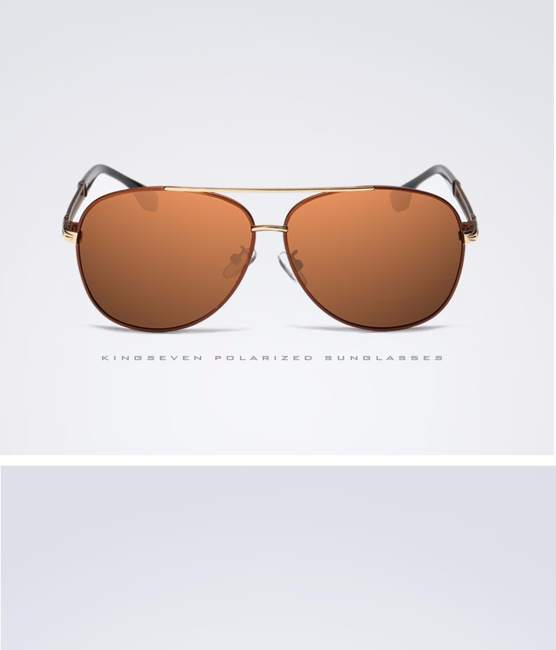 2017 Retro Quality Brand Original Sunglasses Men Polarized Lens Vintage Eyewear Accessories Gold Sun Glasses Oculos For Men 10