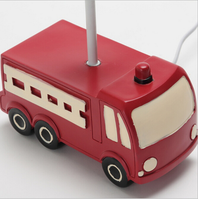 Awesome Resin Fabric Eco Friendly Adjustable Creative Fire Truck Childrenu0027s Room  E27 Table Lamp For Kids Present 1933 In LED Table Lamps From Lights U0026  Lighting On ...